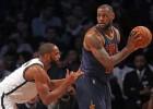LeBron y sus Cavs se relajan y los Nets cortan su racha
