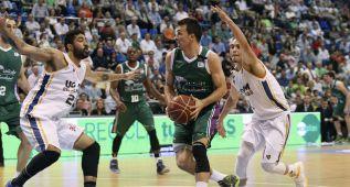El Unicaja arrolla al Murcia y se consolida como líder de la ACB