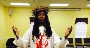 El ex NBA Marquis Daniels y su locura vestido de Jesucristo