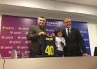 Nacho Muñoz, de 5 años, nuevo 'fichaje' del Barcelona