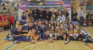 Doblete de Cataluña en el campeonato de Minibasket