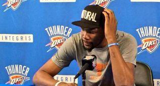 "Kevin Durant: ""No he parado de escuchar estupideces"""