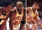 Líderes de los Playoffs: Jordan, Russell, Magic, Duncan, Kobe...