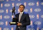 """Curry, MVP: """"Estoy en una nube"""""""