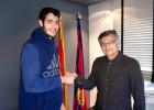 Álex Abrines amplía su contrato con el Barça hasta 2019