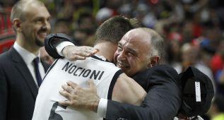 Pablo Laso y Nocioni vuelven a Vitoria como grandes campeones