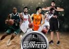 Mejor quinteto ACB: Granger, Llull, Ribas, Reyes y Todorovic