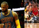 LeBron James (31-8-6) supera a Michael Jordan en los Playoffs