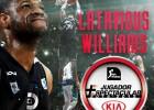 Latavious Williams, premio KIA al Jugador más Espectacular