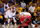 Curry y los Warriors sufren ante Harden pero dominan 2-0