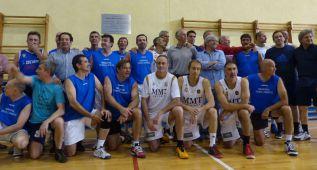 Lucen las viejas glorias del basket