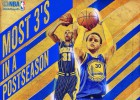 Stephen Curry y sus triples: historia viva de los Playoffs NBA