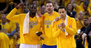 Green renueva y cinco 'warriors' cobrarán más que Curry