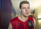 El Barcelona hace oficial el fichaje de Sasha Vezenkov