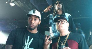Kawhi Leonard, de fiesta con Snoop Dogg y sin sonreír