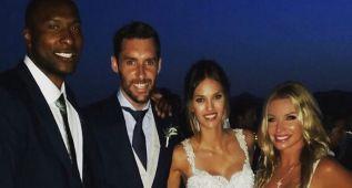 La boda de Rudy Fernández y Helen Lindes