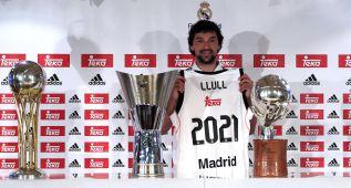 """Llull: """"Mi sueño no era jugar en la NBA, sino en el Real Madrid"""""""