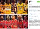 """""""La mejor versión de los Lakers ganaría de 50 a la de los Bulls"""""""
