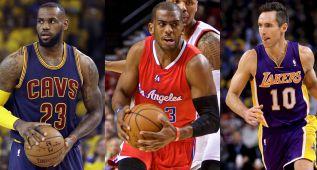 LeBron, Nash y Paul, entre los más inteligentes de la NBA