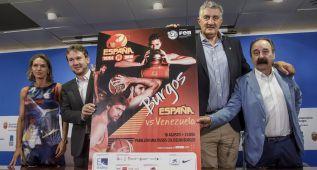 Burgos se prepara para acoger el España-Venezuela