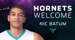 Nicolas Batum querría jugar en los Toronto Raptors