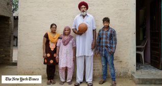 Los sijes rezaron en el templo para que Singh fuera drafteado