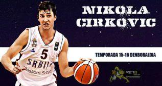El Gipuzkoa ficha a la perla serbia Cirkovic por seis años