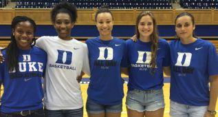 Ángela Salvadores ya está en Duke, lista para la NCAA