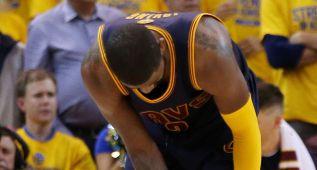 Kyrie Irving, posible baja en los Cavaliers hasta enero