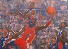 Hoy, hace 25 años, Jordan 'debutó' en la ACB con 37 puntos