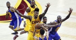 Cavaliers y Warriors, de nuevo grandes favoritos para la ESPN