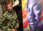 Wall cumple 25 años y le regalan un retrato de 20.000$