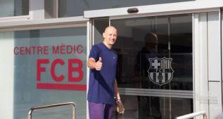 Barton jugará en el Barça B