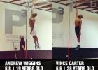 Carter y Wiggins: el doble de años, pero los mismos muelles