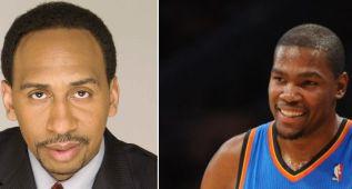 """Stephen A. Smith no se corta: """"Durant tiene que aprender"""""""