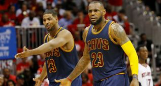 "LeBron James y el 'caso Tristan Thompson': ""Es una distracción"""