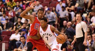 Lowry (26) da un plácido debut de pretemporada a los Raptors