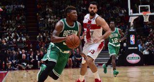 Los Celtics arrasan en Milán y mandan un aviso al Real Madrid