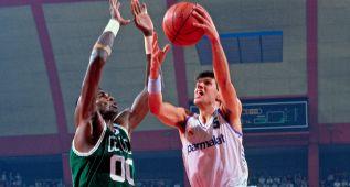 Los Celtics de Bird ya visitaron al Madrid de Petrovic en 1988