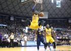 Lakers: Prórroga, pelea, susto de Russell... y 13 puntos de Kobe