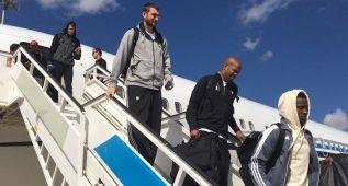 Los Celtics ya están en Madrid