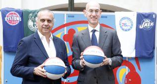 """Adam Silver: """"Es prematuro hablar del Madrid en la NBA"""""""