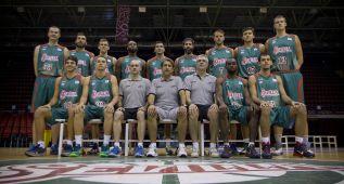 El Baloncesto Sevilla ha celebrado hoy su 'media day'