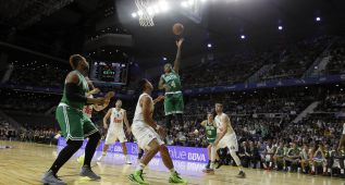 Real Madrid-Celtics en imágenes