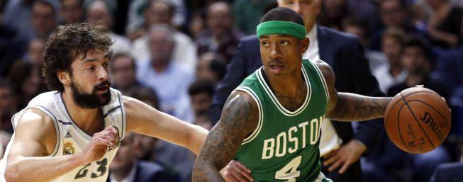 Real Madrid y Celtics repiten marcador 27 años después