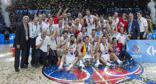 Ranking FIBA: España es primera de Europa y segunda del mundo