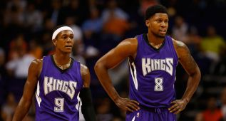 Gay explota en la derrota de los Kings: 30 pts y 6/7 en triples