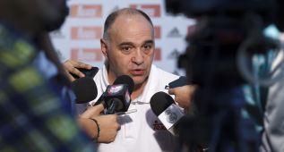 """Pablo Laso: """"Soy optimista con Rudy, ha podido entrenarse"""""""