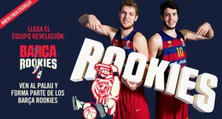 'Barça Rookies' o cómo acercar a los más jóvenes al Palau
