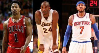 ¿Los peores contratos de la NBA? Carmelo, Kobe, Rose...